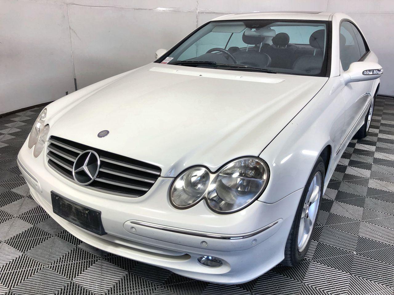 2004 Mercedes Benz CLK320 Avantgarde Automatic Coupe