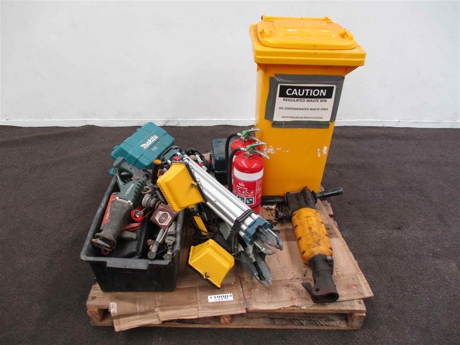 Pallet of Workshop Tools