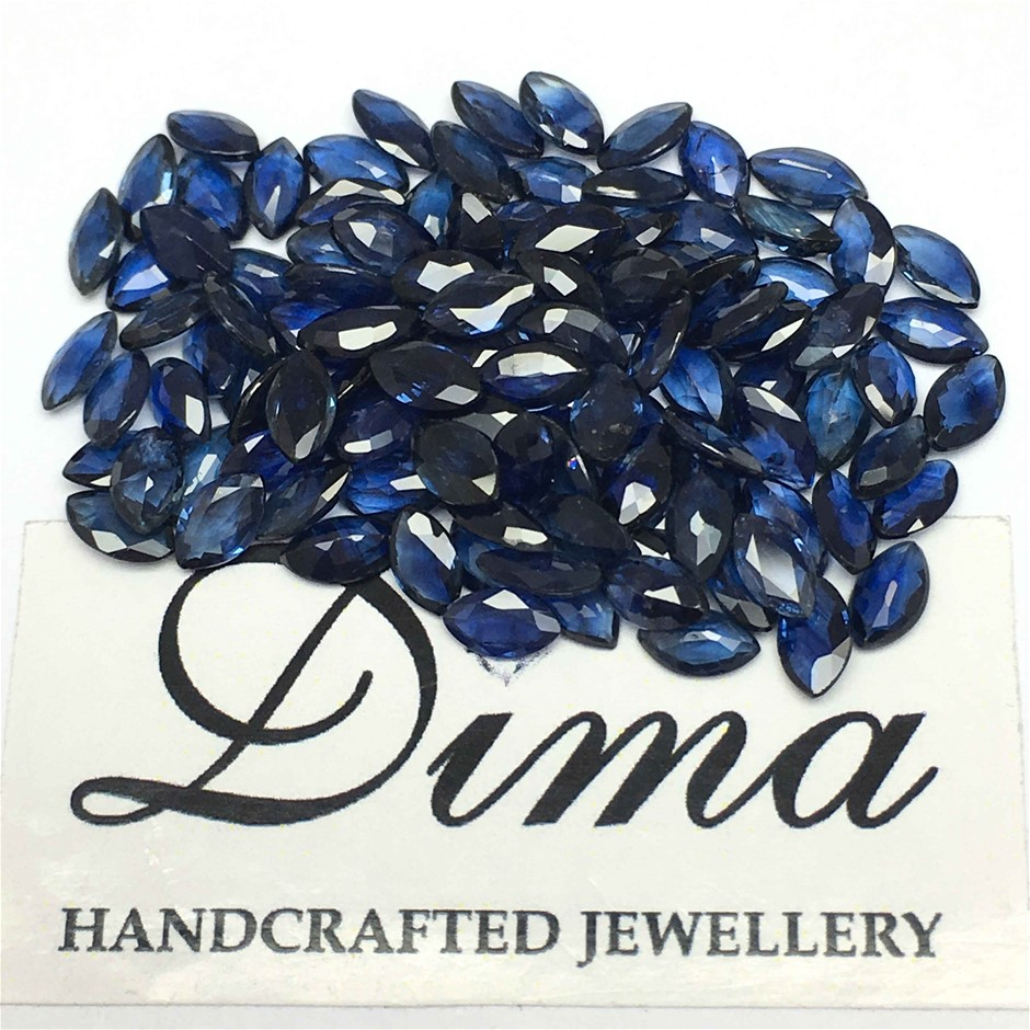 Parcel Of Loose Blue Sapphire, 22.32ct in Total