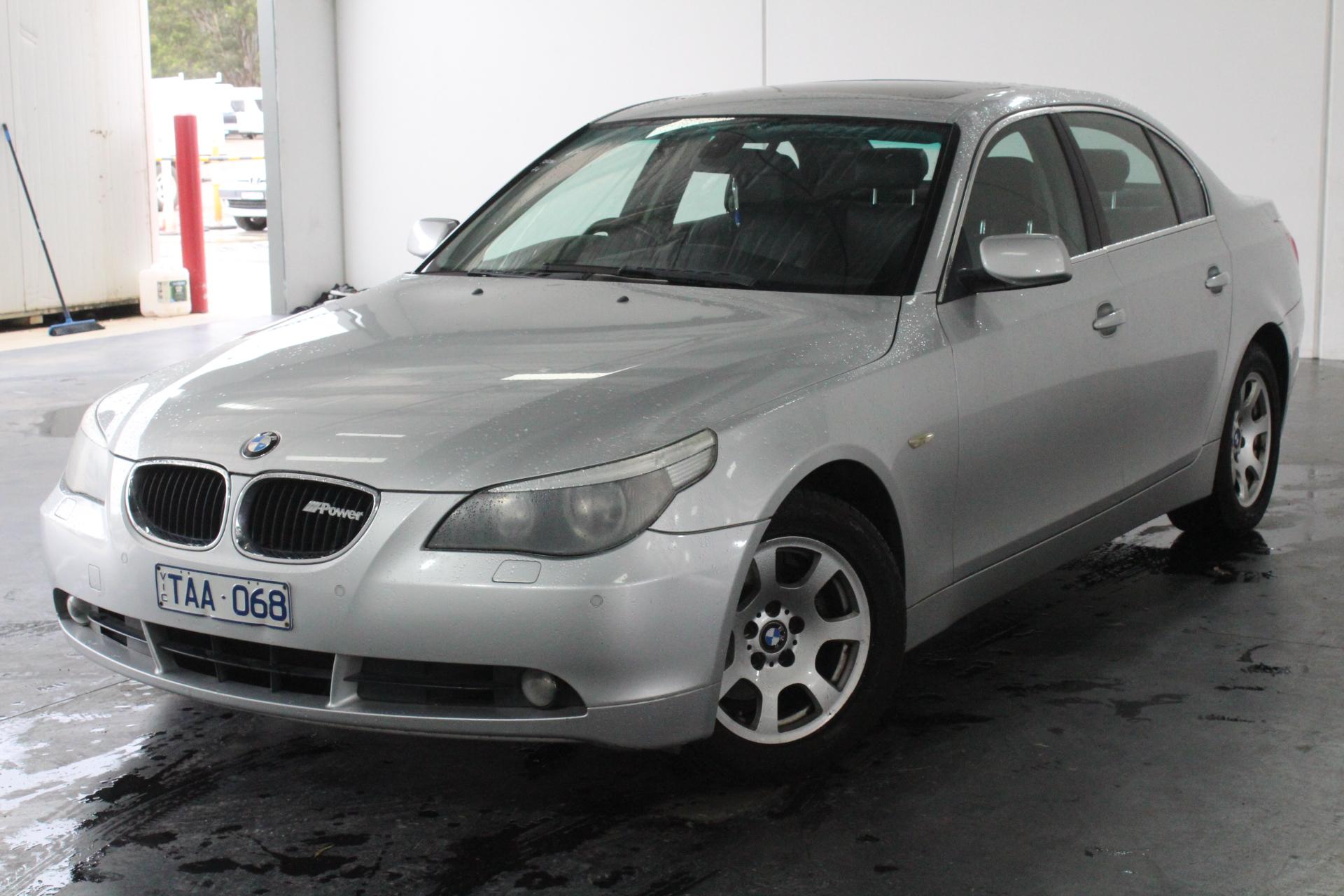 2004 BMW 5 25i E60 Automatic Sedan