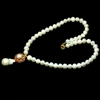 Spectacular Genuine Pearl & Ruby Necklace.