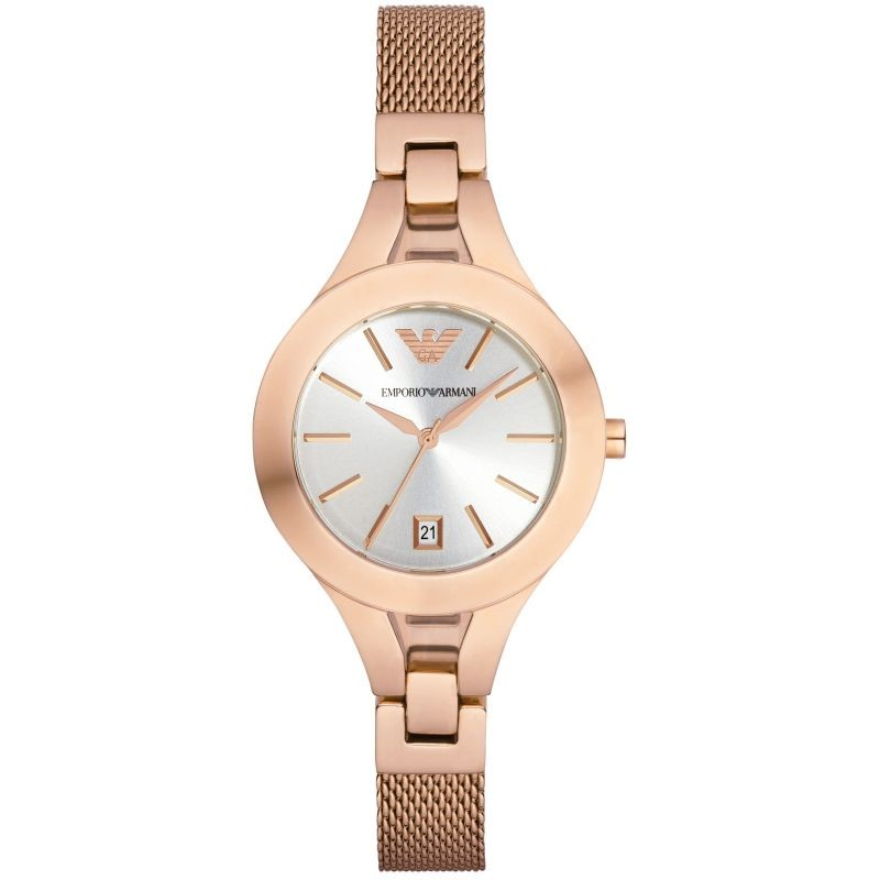 Exquisite new Emporio Armani Rose Gold Plated watch.