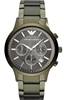Handsome new Emporio Armani stainless steel watch.