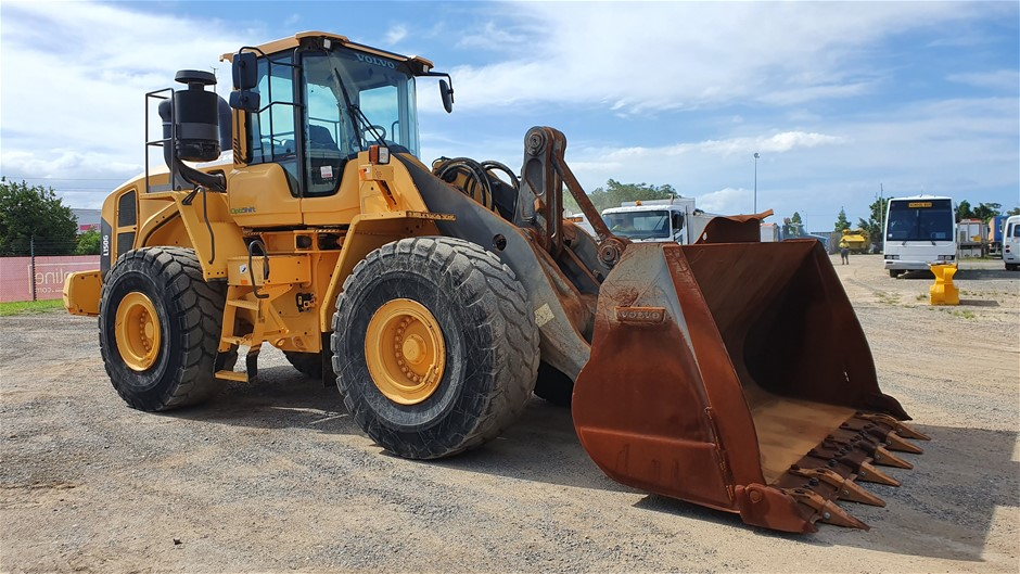 2014 Volvo L150G Wheel Loader