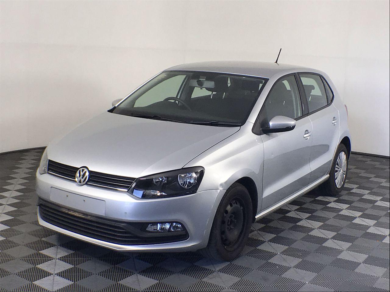 2015 Volkswagen Polo 66TSI TRENDLINE 6R Automatic Hatch 29,746km (WOVR)