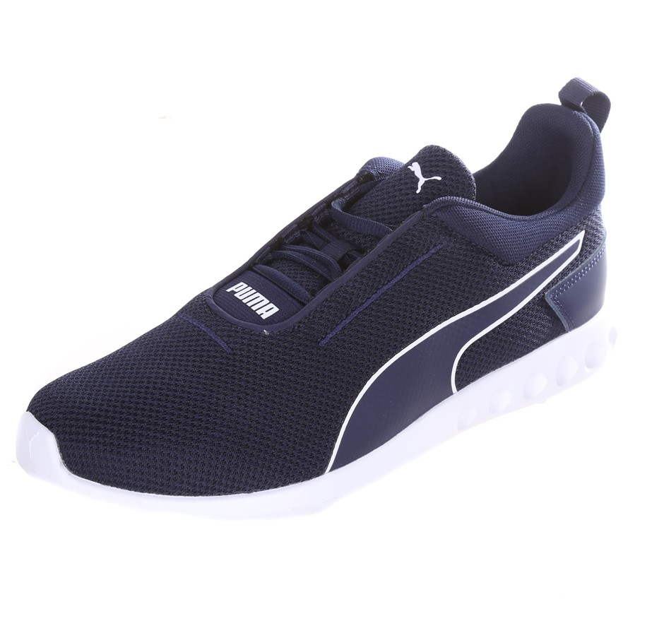 PUMA Men`s Carson 2 Concave Shoes, Size UK 10, Blue/White Sole. Buyers Note