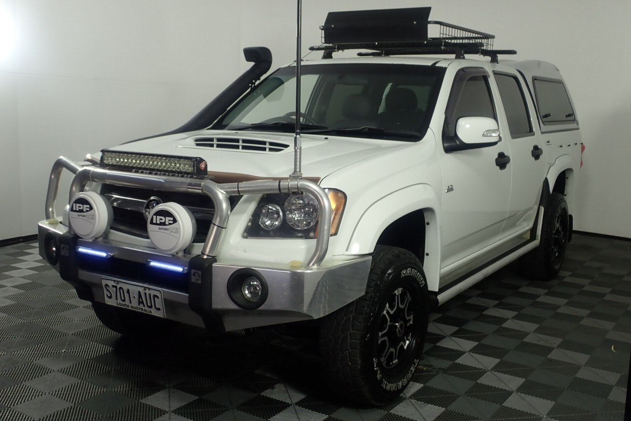 2008 Holden Colorado 4X4 LX 3.0 T/D RC Turbo Diesel Automatic Dual Cab