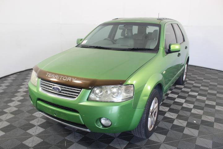2004 Ford Territory Ghia SX Automatic 7 Seat Wagon