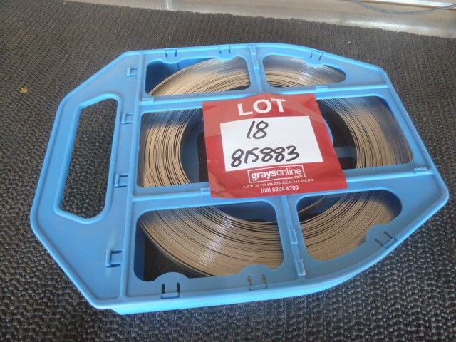 """Qty 100 Feet ½"""" Bandit Stainless Steel Strapping (Pooraka, SA)"""