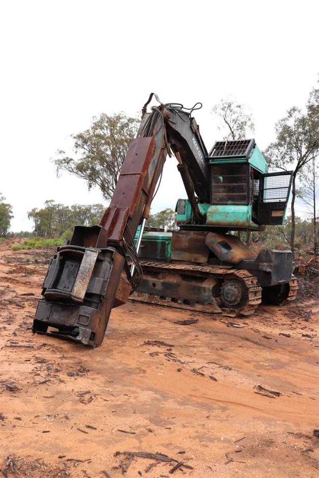 Harvester, Timber Jack 2628 FB Base
