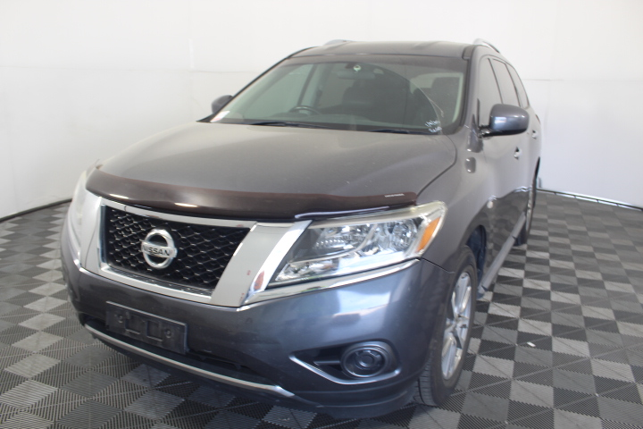2013 MY14 Nissan Pathfinder ST R52 CVT 7 Seats Wagon 131,397kms