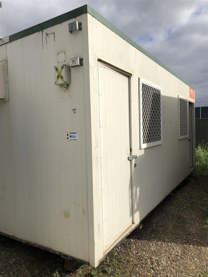 6m x 3m Portable Building on Skids