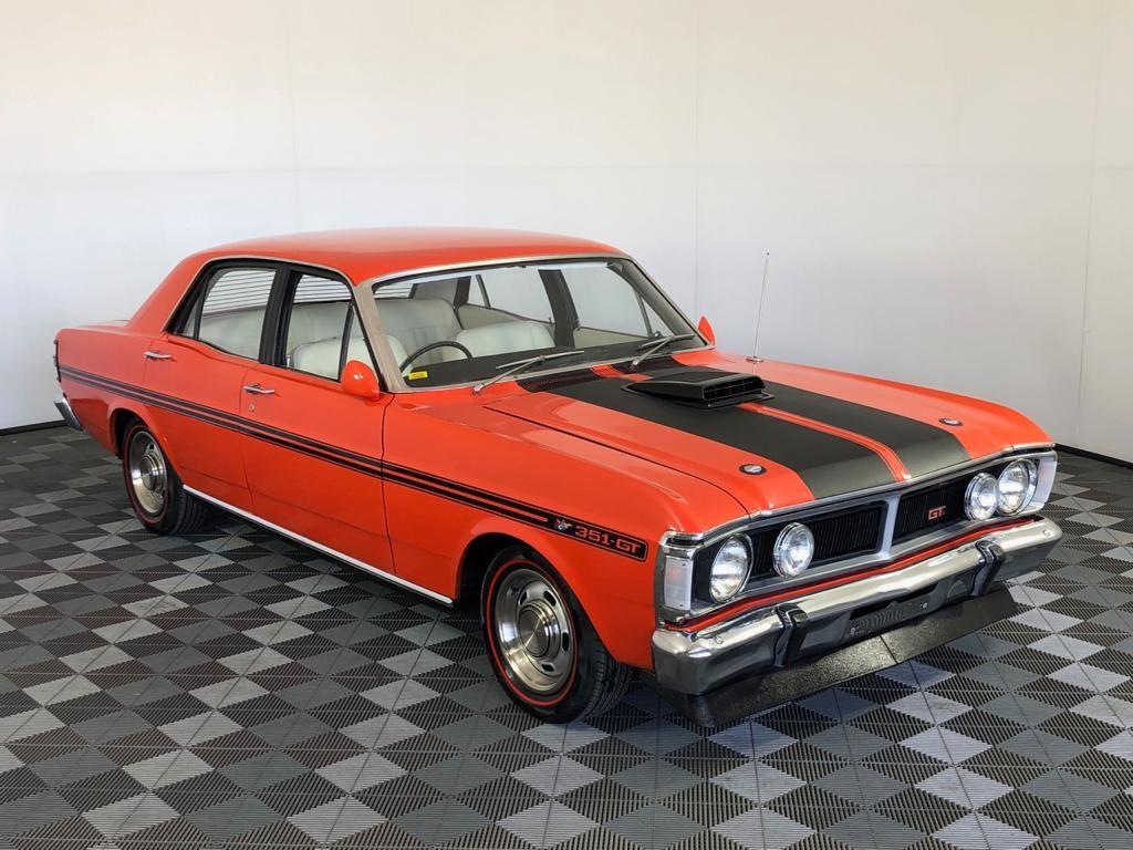 1971 Ford Falcon XY GT Replica 351, Top Loader, 9 inch, Vermilion Fire