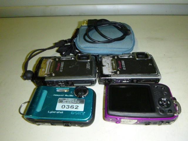 Qty 4 x Digital Camera