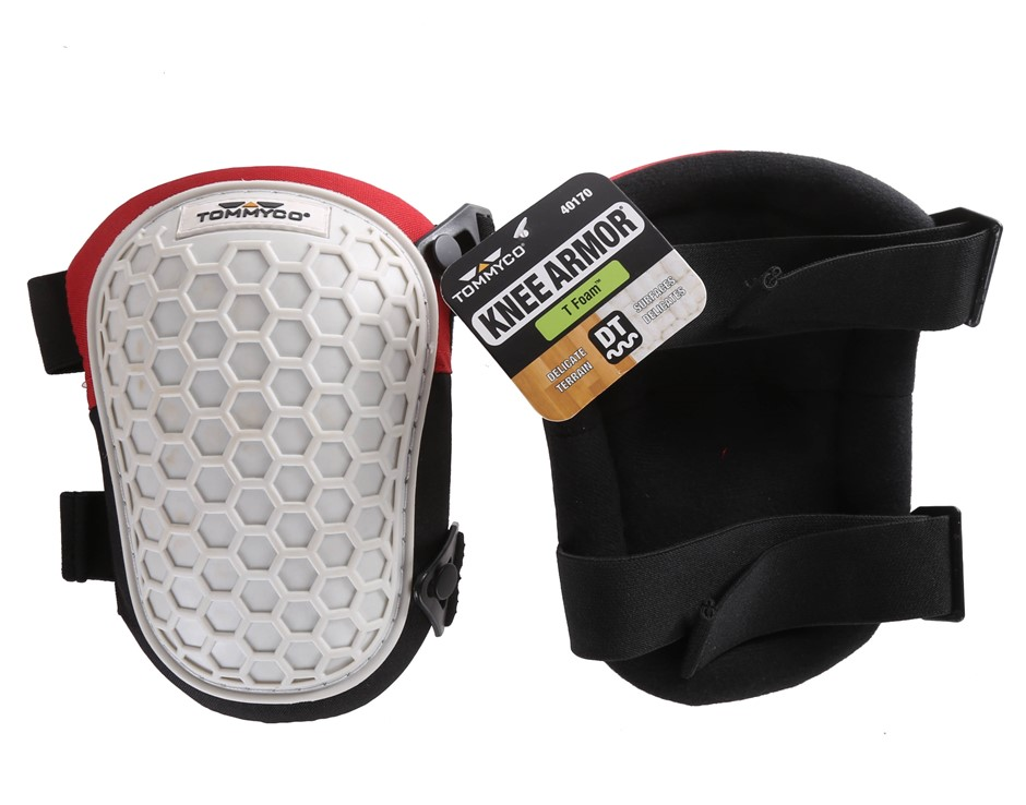 TOMMYCO KNEE ARMOR Knee Pads. Buyers Note - Discount Freight Rates Apply to