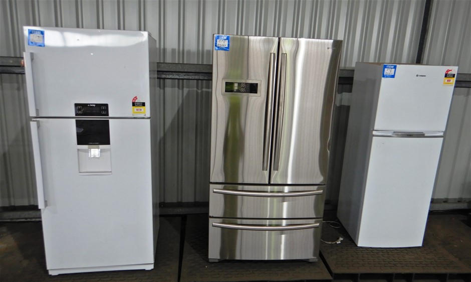Qty of 3 Fridges (Suitable for Parts)(Pooraka, SA)
