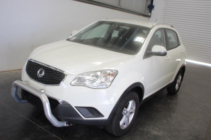 2011 Ssangyong Korando S Turbo Diesel Automatic Wagon