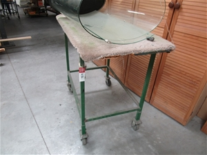 Quantity of 3x Steel Fabricated Trolleys