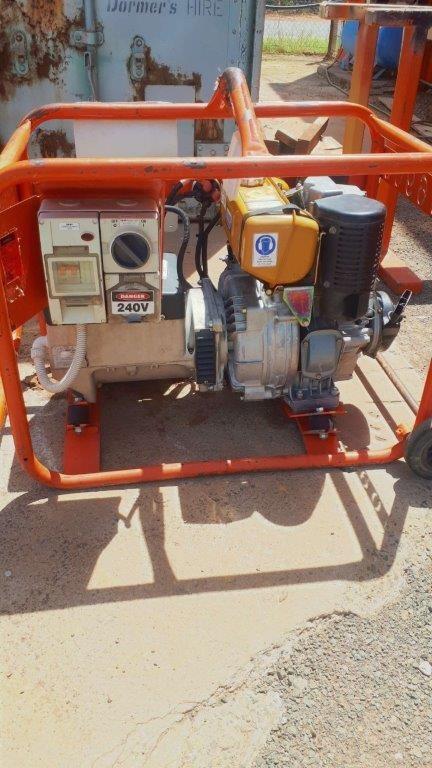 Generator - 5 KVA (Diesel) - CROMMELINS D56EHC