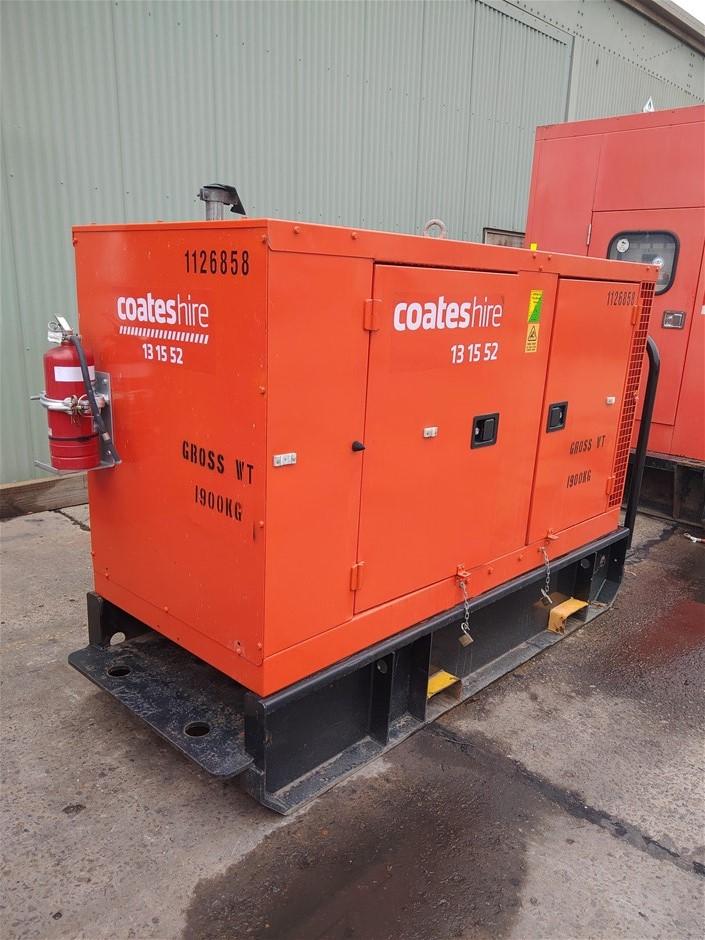 Generator - 50kVA (Diesel) - 2012 CUMMINS C50D2R