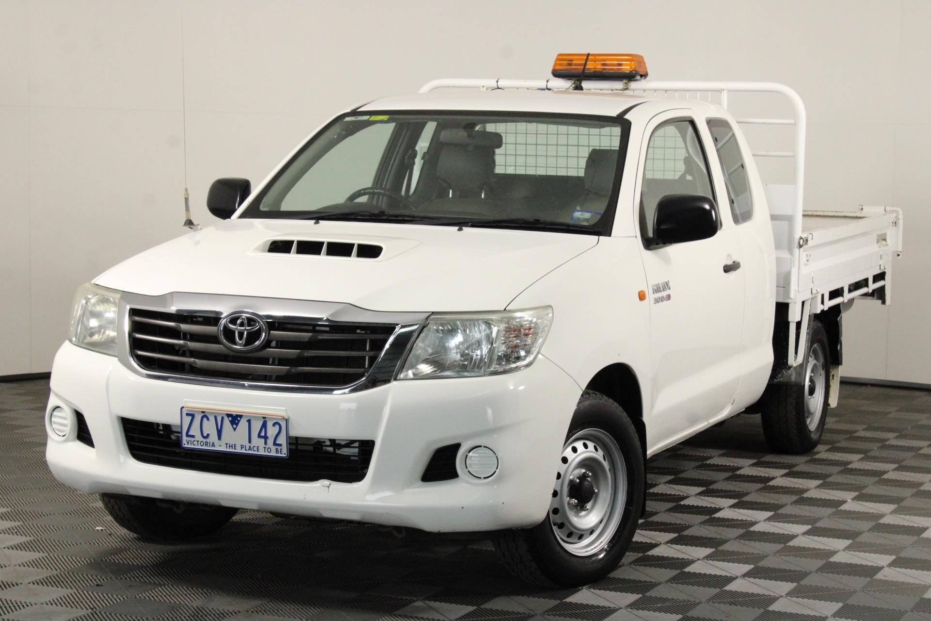 2012 Toyota Hilux 4X2 SR KUN16R Turbo Diesel Manual Ute