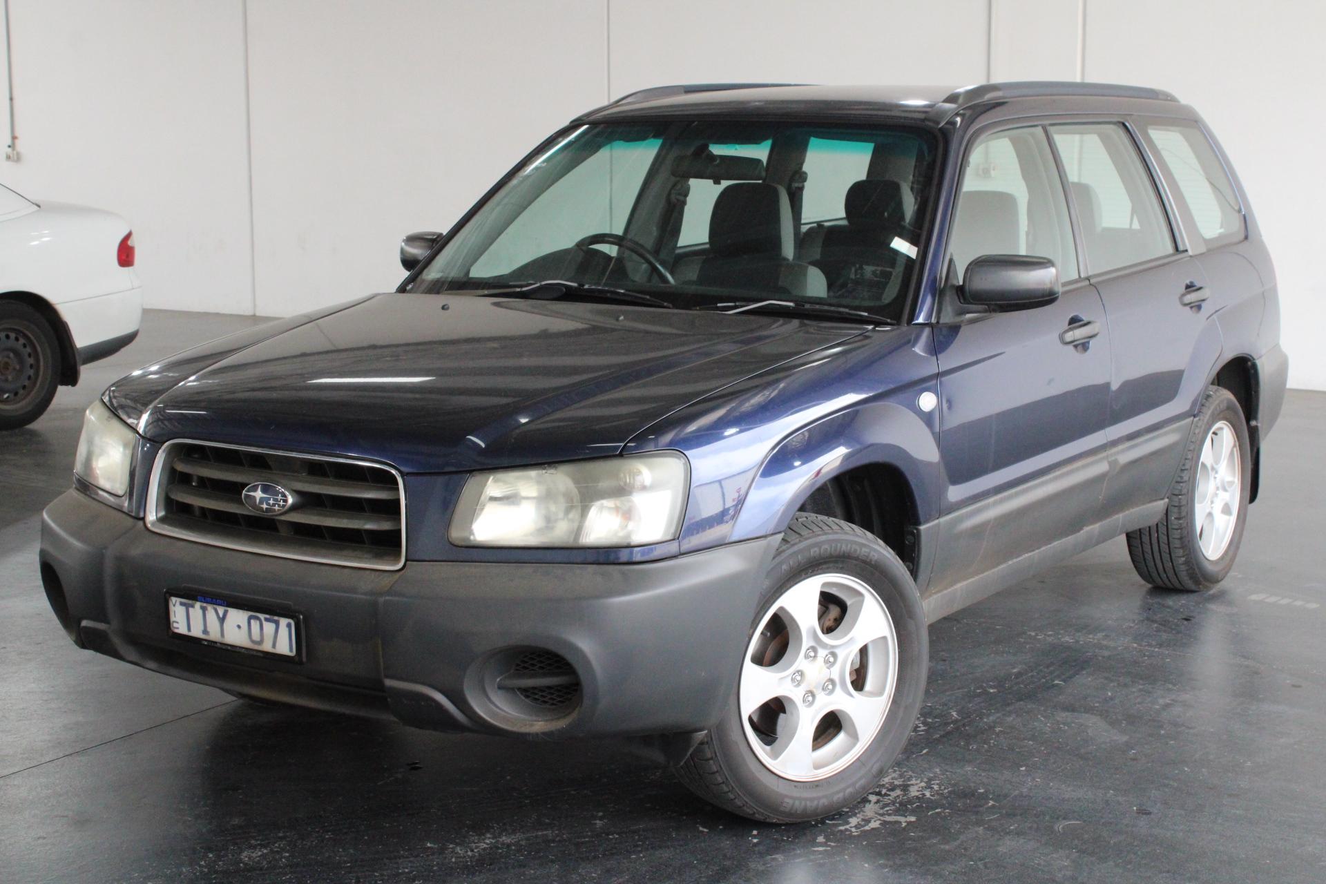 2005 Subaru Forester X Manual Wagon
