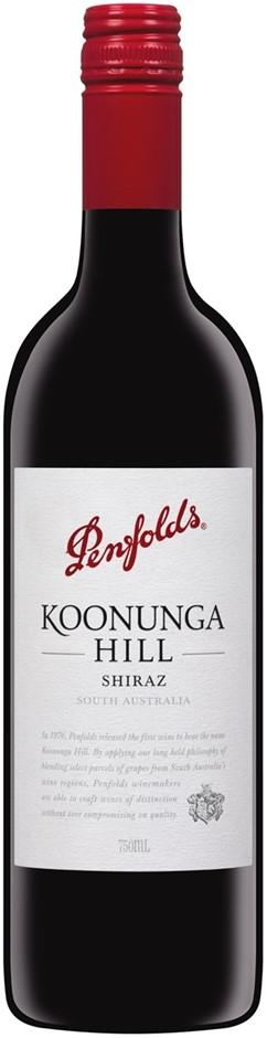 Penfold's Koonunga Hill Shiraz 2018 (6x 750mL).SA.