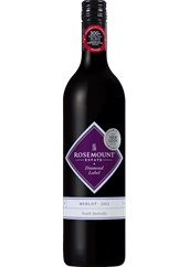 Rosemount Diamond Label Merlot 2018 (6x 750mL).TAS.