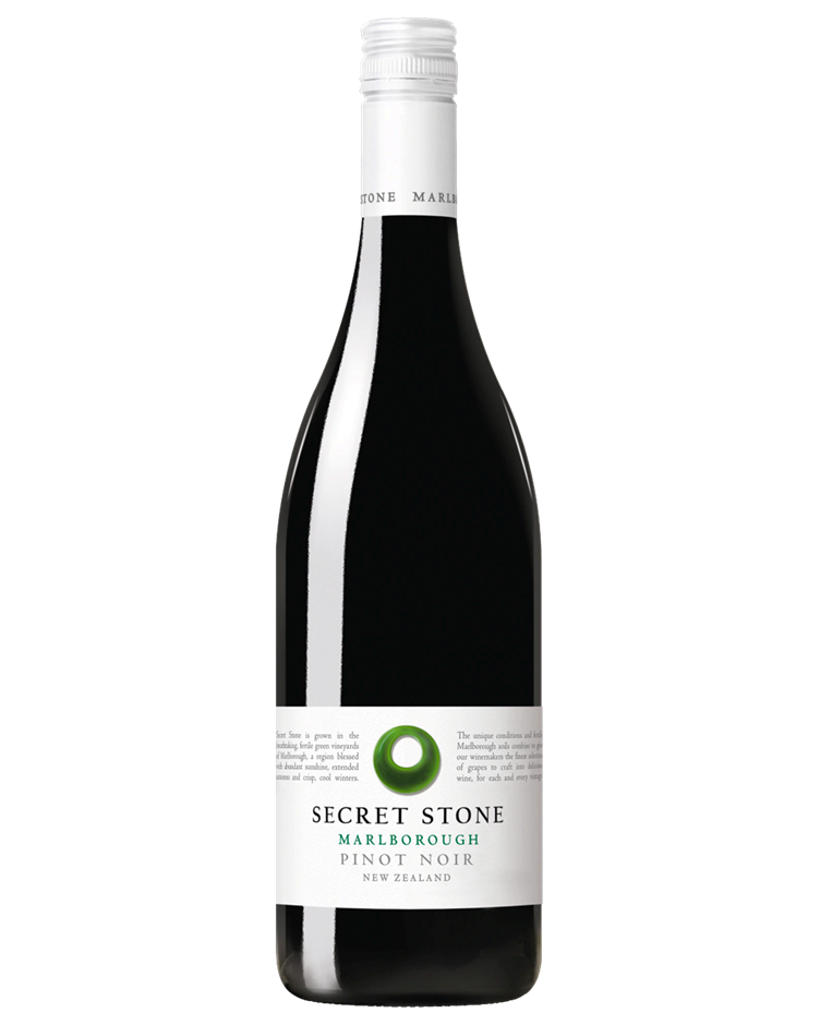 Secret Stone Pinot Noir 2018 (6x 750mL).TAS.