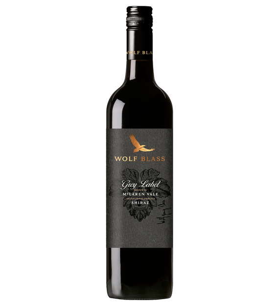 Wolf Blass Grey Label Shiraz 2017 (6x 750mL).TAS.