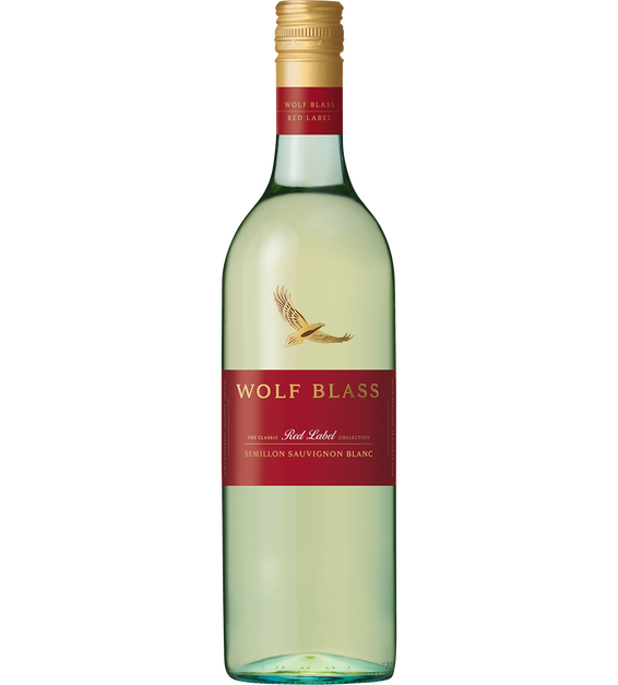 Wolf Blass Red Label Semillon Sauvignon Banc 2019 (6x 750mL).TAS.