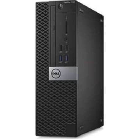 Dell OptiPlex 7040 Small Form Factor (SFF) Desktop PC, Black