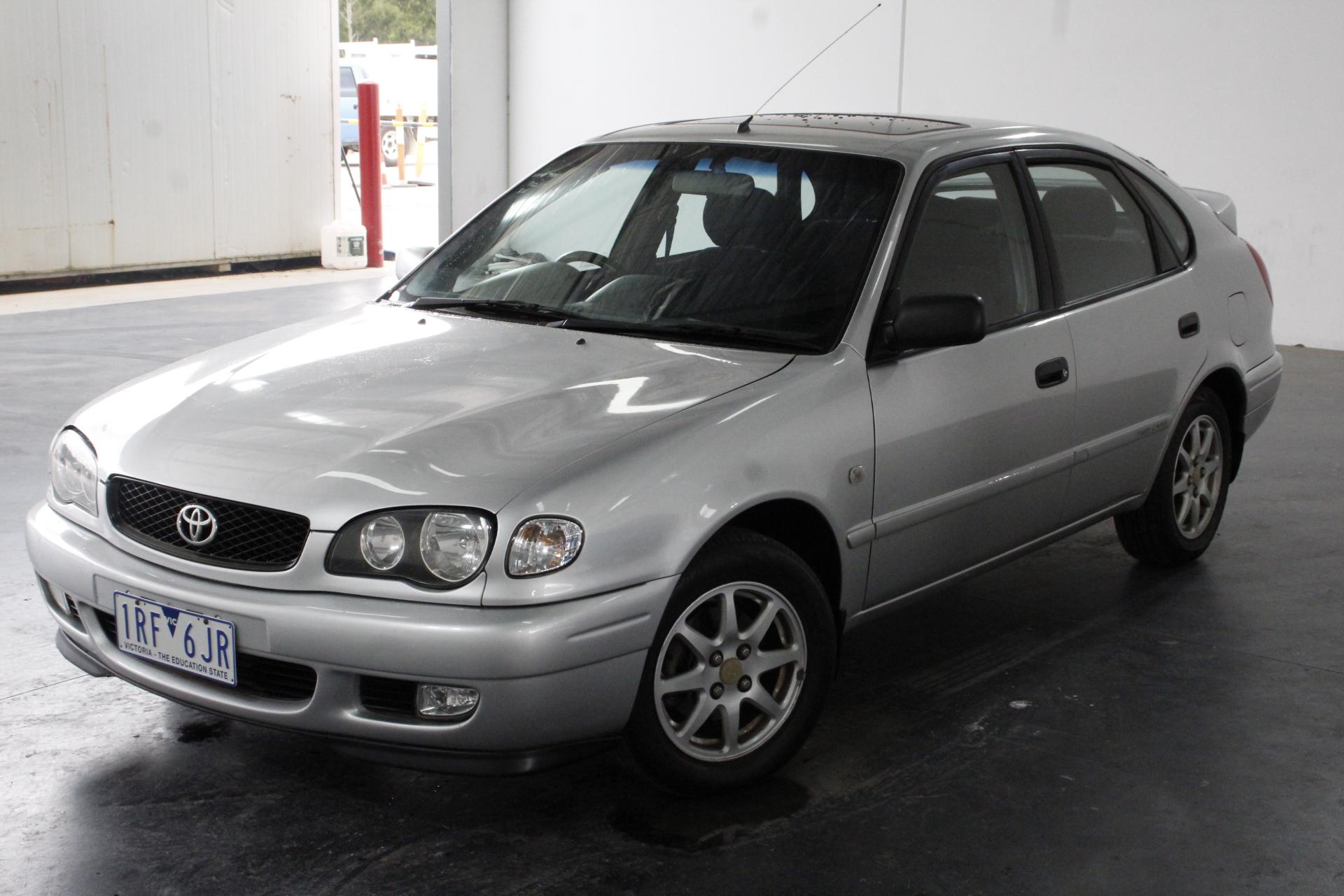2001 Toyota Corolla Levin Seca AE112R Manual Hatchback