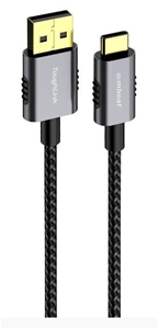 mbeat ToughLink 1.8m Braided USB-C to US