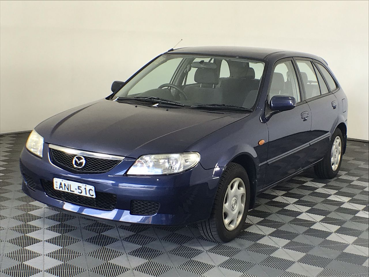 2002 Mazda 323 Astina BJ Manual Hatchback