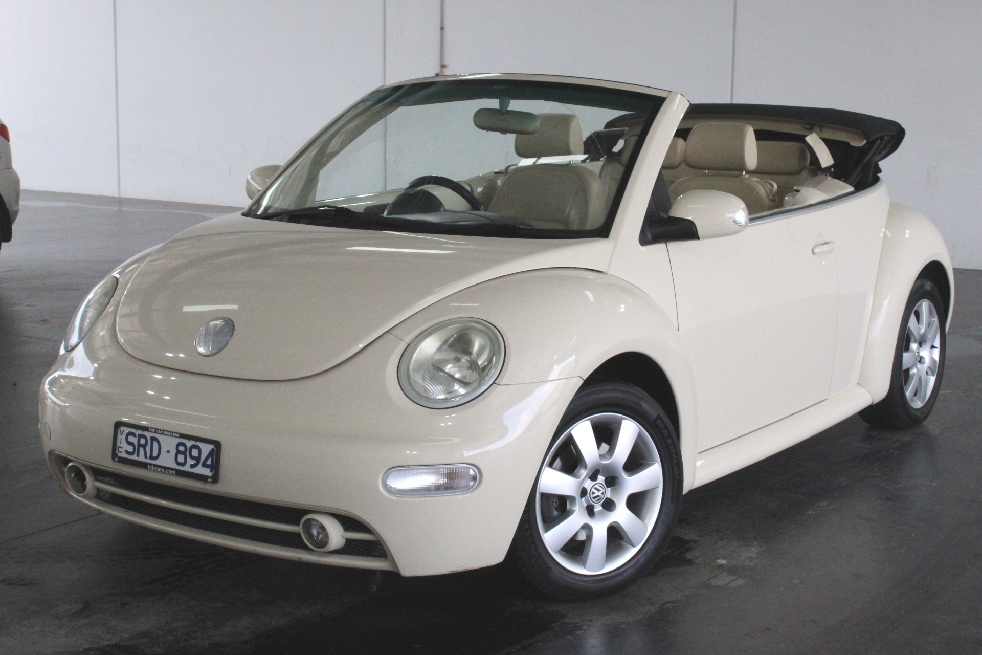 2003 Volkswagen New Beetle 2.0 Cabriolet A4 Manual Convertible