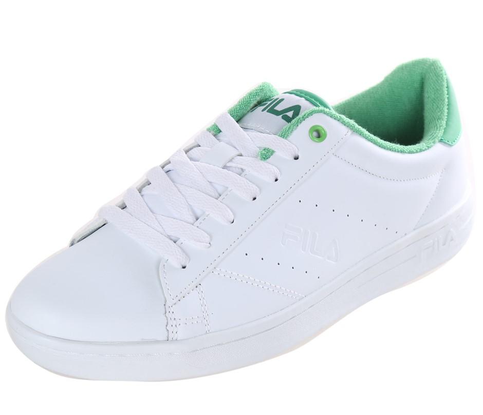 FILA Street Ladies Tennis Sport Shoes, Size UK 4.5, Leather - PU Upper; Whi