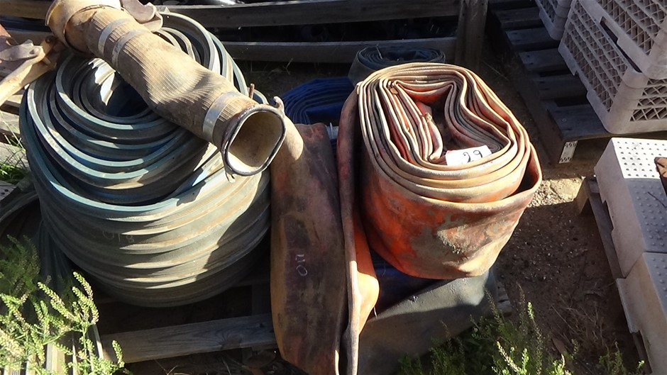 Pallet Qty of Lay Flat Hose and Rubber