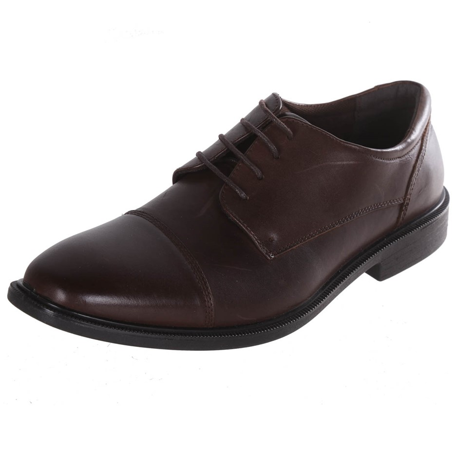 JULIUS MARLOW Men`s Tabuch Oxford Dress Shoes, Size UK 11, Brown. Buyers No