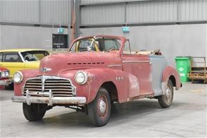 1942 Chevrolet Special Deluxe Cabriolet