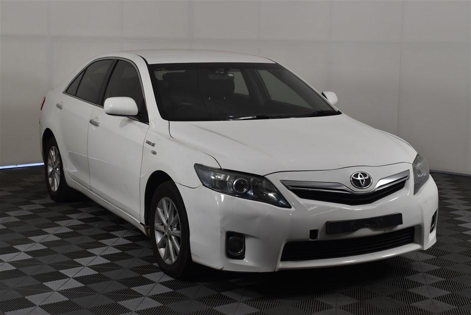 2011 Toyota Camry Hybrid AHV40R CVT Sedan