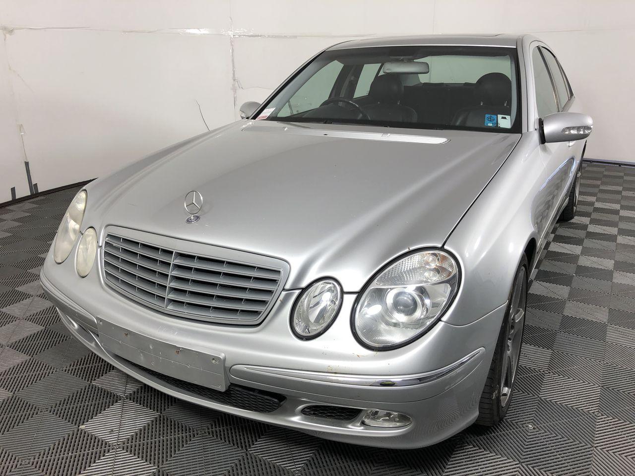 2002 Mercedes Benz E500 Elegance W211 Automatic Sedan