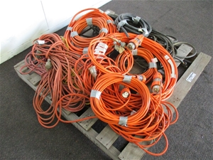 Pallet of Electrical Cables & Cords