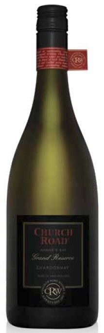 Church Road Grand Reserve Chardonnay 2018 (6 x 750mL). Hawkes Bay. NZ.