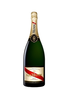 G.H Mumm Cordon Rouge Champagne Magnum N