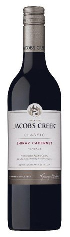 Jacobs Creek Classic Shiraz Cabernet 2017 (12 x 750mL), SE AUS.