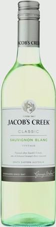 Jacobs Creek Classic Sauvignon Blanc 2019 (12 x 750mL), SE AUS.