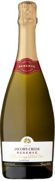 Jacobs Creek Sparkling Chardonnay Pinot Noir NV (6 x 750mL), SE AUS.