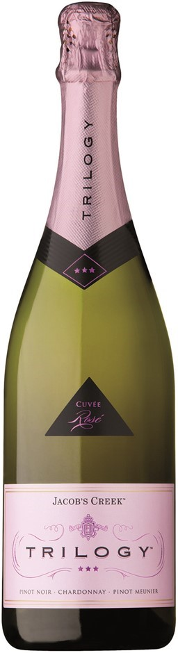 Jacobs Creek Trilogy Sparkling Rose NV (6 x 750mL), AUS