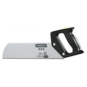 4 x STANLEY 320mm Back Saws. (SN:1-15-21